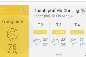 AirVisual - ứng dụng đo chất lượng không khí - bị chặn ở Việt Nam