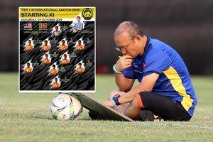 ĐT Việt Nam đấu Malaysia: HLV Park Hang-seo lấy tĩnh chế động?