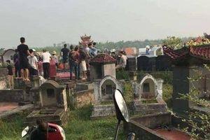 Người phụ nữ nghi bị bạn trai sát hại, mang thi thể bỏ ở nghĩa trang