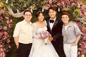 Dàn sao Việt tưng bừng đến tham dự và chúc phúc con trai nghệ sĩ cải lương Kim Phương trong ngày cưới