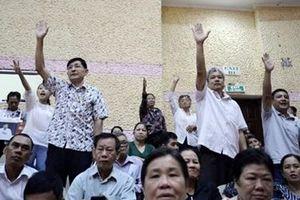 Nóng vấn đề Thủ Thiêm khi cử tri tiếp xúc tổ đại biểu Quốc hội
