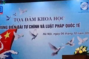 Trung Quốc luôn đuối lý trong vụ việc Bãi Tư Chính ở Biển Đông