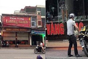 Truy tìm đối tượng nghi dùng súng cướp hiệu vàng ở Quảng Ninh