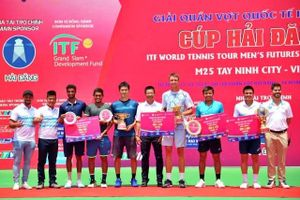 Lý Hoàng Nam giành ngôi Á quân ITF World Tennis Tour