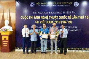 Trao giải thưởng cuộc thi ảnh nghệ thuật quốc tế lần thứ 10 tại Việt Nam