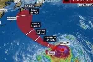 Từ bão nhiệt đới thành siêu bão cấp 5 trong 18 giờ, Hagibis đe dọa châu Á