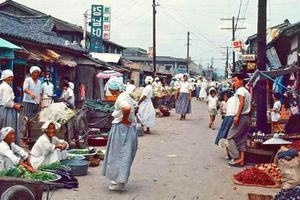 Ảnh màu cực độc về diện mạo Hàn Quốc thập niên 60