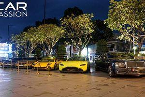 Cận cảnh dàn siêu xe trăm tỷ họp mặt tại Sài thành