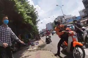 Xem Cảnh sát Hình sự truy đuổi bắt cướp như phim hành động ở Sài Gòn
