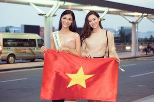 Á hậu Kiều Loan gây náo loạn sân bay khi sang Venezuela dự thi Miss Grand 2019