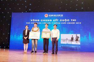 Hai học sinh Quảng Ninh đạt giải Ba cuộc thi SV- Startup 2019