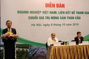 Tham gia chuỗi giá trị nông sản toàn cầu: Vai trò của doanh nghiệp là tiên quyết
