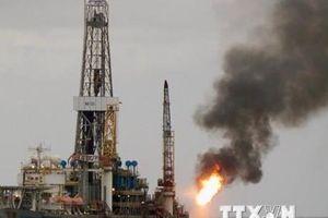 Giá dầu giảm nhẹ trước các số liệu trái chiều