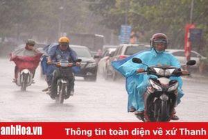 Cảnh báo mưa và mưa to ở Thanh Hóa