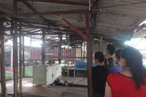 Một thanh niên thắt cổ tự tử giữa chợ Máy Cưa