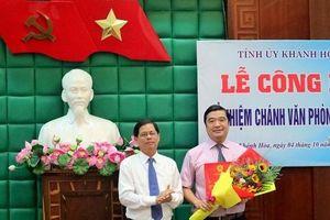 Nhân sự mới tại Đồng Tháp, Khánh Hòa, Bắc Giang