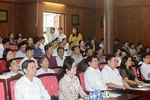 Hà Nam tập huấn nghiệp vụ công tác văn hóa, thể thao và du lịch năm 2019
