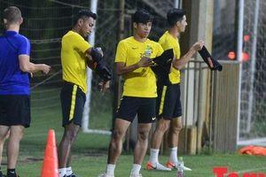 HLV trưởng, tiền đạo Đội tuyển Malaysia bắt 'việt vị' toàn bộ phóng viên Việt Nam