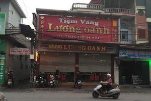 Xác định được đối tượng vụ cướp tiệm vàng ở thị xã Đông Triều
