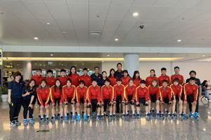 U19 nữ Việt Nam lên đường sang Myanmar thi đấu giao hữu