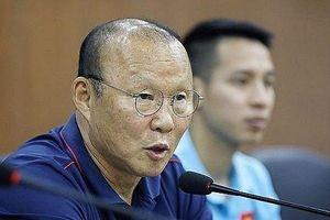 HLV Park Hang-seo loại Xuân Mạnh, Văn Kiên trước trận gặp Malaysia