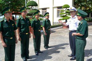 Đoàn công tác Bộ Tổng Tham mưu làm việc tại Hải đoàn 18 BĐBP