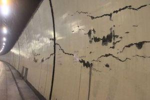 Phản hồi thông tin nhiều vết nứt vỏ hầm Hải Vân 1