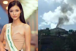 Thực hư tin khách sạn Kiều Loan và thí sinh HH Hòa bình ở bốc cháy