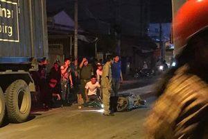TP.HCM: Ám ảnh hiện trường vụ thanh niên bị container cán tử vong trên con đường 'tử'