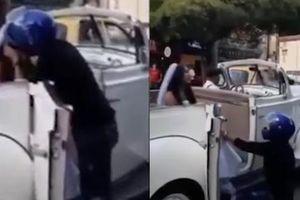 HOT: Trên đường đến đám cưới, cô dâu bị người yêu cũ chặn xe cưỡng hôn giữa thanh thiên bạch nhật