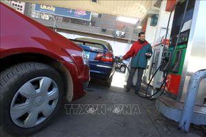 Giá dầu thế giới đi xuống