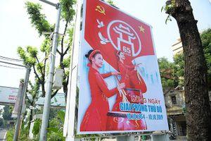 Hà Nội rực rỡ cờ hoa chào mừng 65 năm Ngày giải phóng Thủ đô