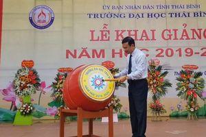 Trường Đại học Thái Bình chào đón 1.000 tân sinh viên