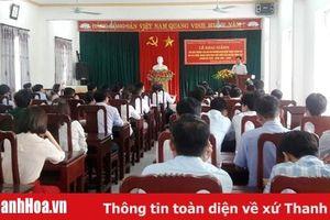 Huyện Vĩnh Lộc: Khai giảng lớp bồi dưỡng cán bộ dự nguồn BCH Đảng bộ huyện