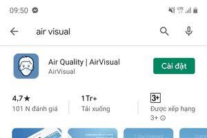 Ứng dụng AirVisual bất ngờ có thể tải xuống trở lại