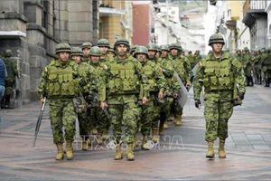 Quốc hội Ecuador ngừng hoạt động tạm thời