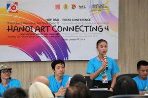 Workshop mỹ thuật quốc tế 'Hà Nội một kết nối nghệ thuật' đón 140 nghệ sĩ trong nước và quốc tế