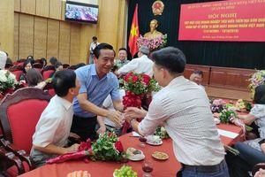 Quận Ba Đình gặp mặt doanh nghiệp nhân Ngày Doanh nhân Việt Nam