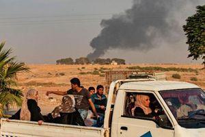 Người Kurd nháo nhào di tản sau khi Syria bị tấn công