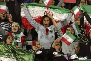 Nữ giới Iran đã được phép vào sân xem bóng đá