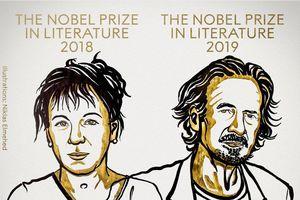 Sự nghiệp đồ sộ của hai tác giả giành giải Nobel Văn học 2018 và 2019