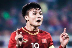 Quang Hải ghi bàn đưa Việt Nam lên nhì bảng G vòng loại World Cup
