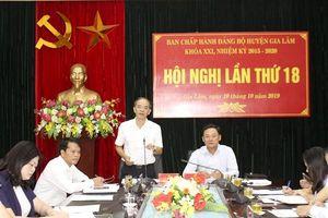 Hội nghị lần thứ 18 BCH Đảng bộ huyện Gia Lâm khóa XXI