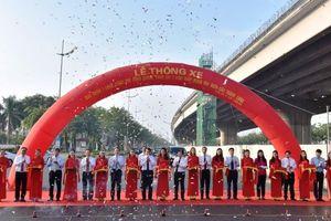 Thông xe đường vành đai 3 đoạn Mai Dịch - cầu Thăng Long