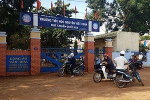 Vụ tố hiệu trưởng lạm thu, độc đoán: Thanh tra đột xuất trường Nguyễn Viết Xuân