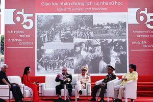 Nhiều hoạt động văn hóa nghệ thuật mừng 65 năm Ngày Giải phóng Thủ đô