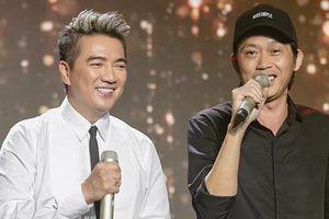 Hoài Linh và Đàm Vĩnh Hưng đứng chung sân khấu sau nhiều năm 'từ mặt'