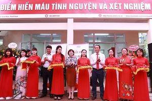 Thêm điểm hiến máu cố định được khai trương trong ngày kỷ niệm 65 năm Giải phóng Thủ đô