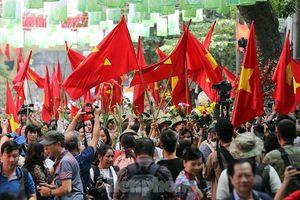 Đoàn quân trở về, tái hiện 'ký ức Hà Nội - 65 năm' tại phố bích họa Phùng Hưng