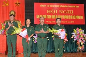Bộ đội Biên phòng tỉnh Quảng Bình bổ nhiệm Chỉ huy trưởng mới